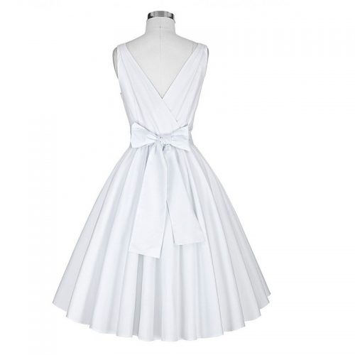 Katharine klänning vit bak