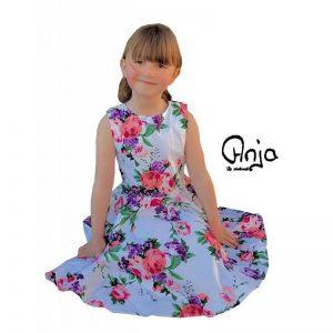 anja barn klänning modell