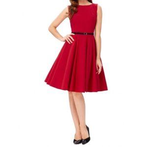 Röd Julklänning