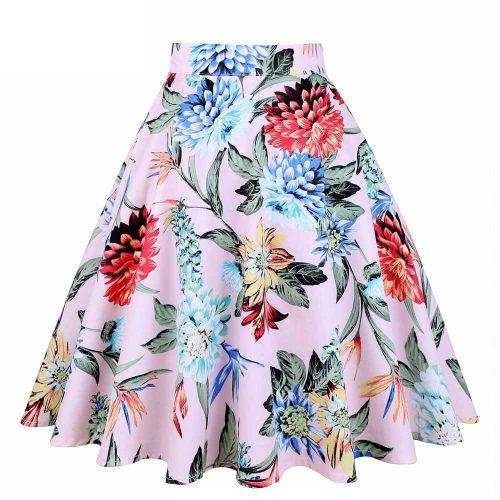Knälång kjol