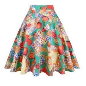 Rockabilly kjol