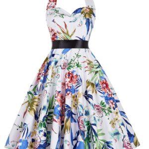 Tropisk klänning