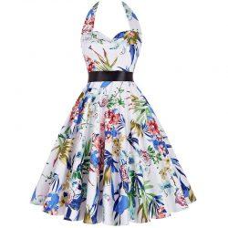 Vit klänning