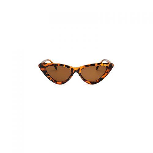 Leopardmönstrade solglasögon