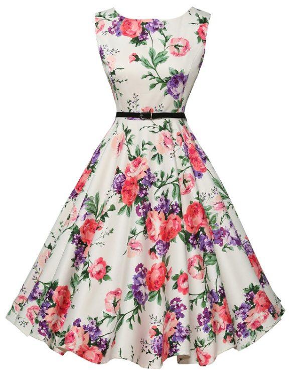 Anja klänning pastell färg