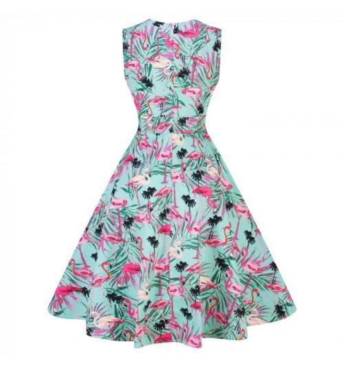 klänning sheila flamingo