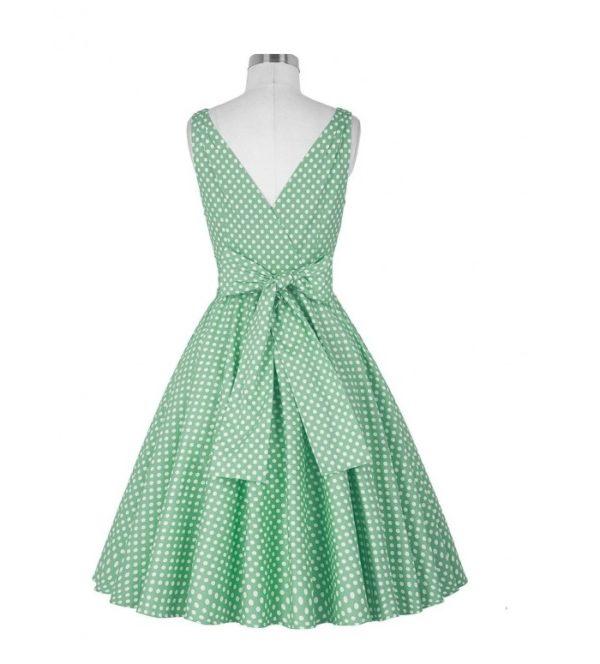Katharine klänning grön bak
