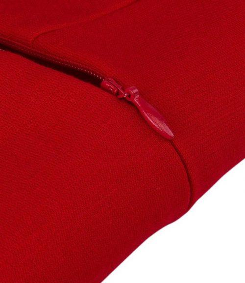 röd pencil tyg