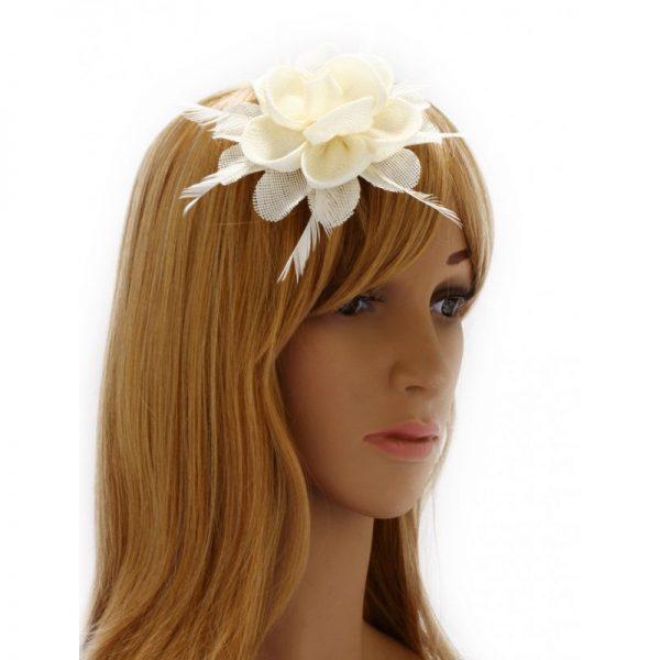 ivory hårblomma modell