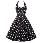 halter klänning big dot