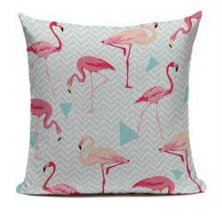 Flamingo kuddfodral