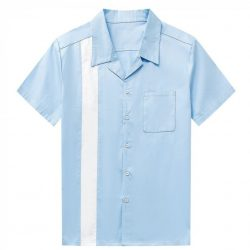 Herrskjorta ljusblå