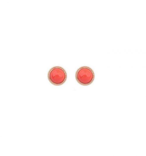 Aprikos örhängen