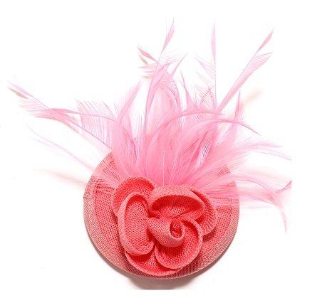 rosa damhatt fascinator