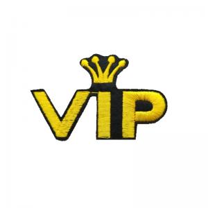 Tygmärke VIP
