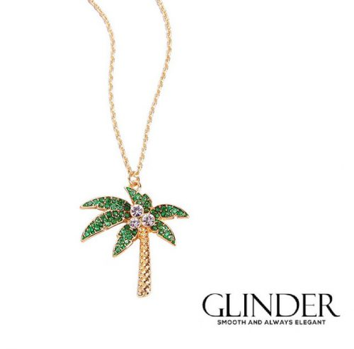 halsband guld med palm