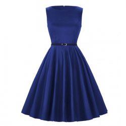 klänning royal blue