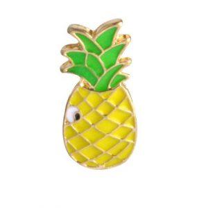 ananas brosch Retro