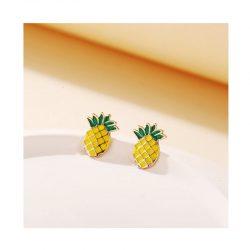 Örhängen ananas retro rockabilly