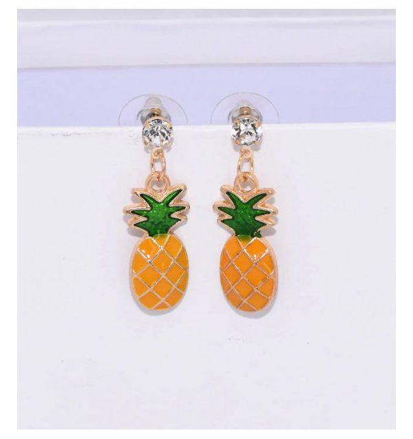 Örhängen ananas