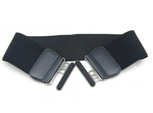 resårbälte gummispänne svart