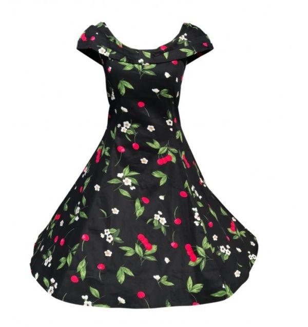 klänning körsbär