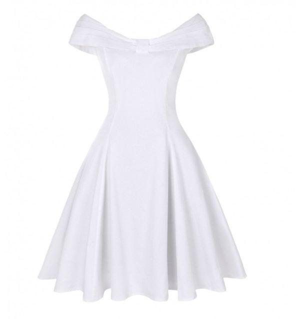 klänning vit veronika
