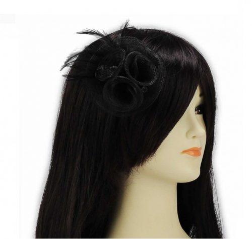 hatt svart diskret svart
