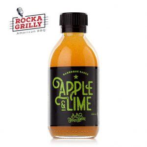Appel lime BBQ sås