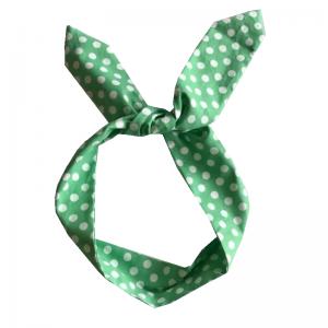 Grön bandana