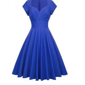 victoria kornblå klänning