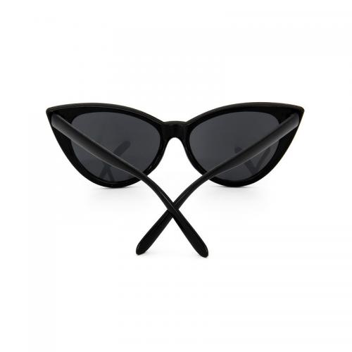 Svarta cat eye solglasögon