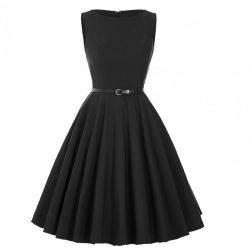 svart klänning audrey hepburn