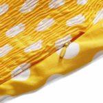 halter klänning gul detalj