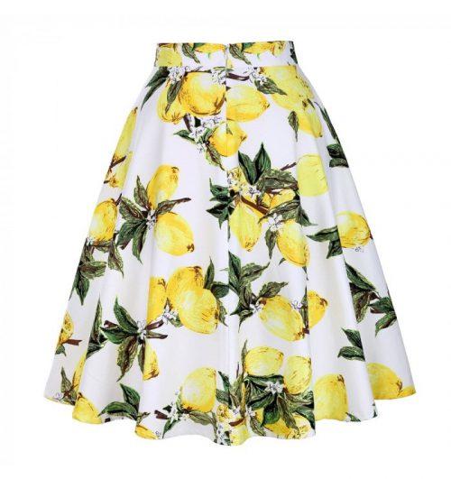 frida citron kjol bak