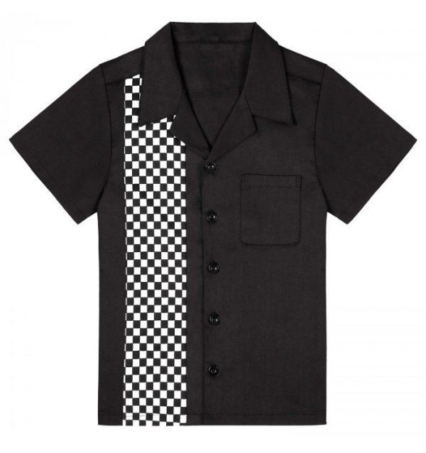 Retro Barnskjorta