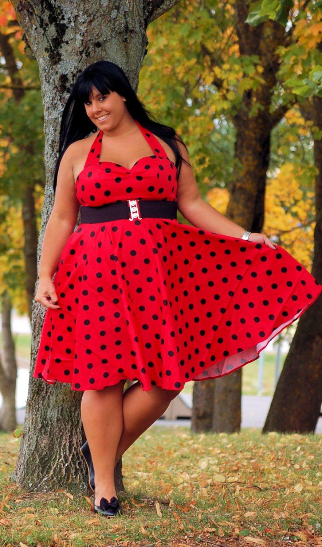 Klänningar i stora storlekar och plussize!