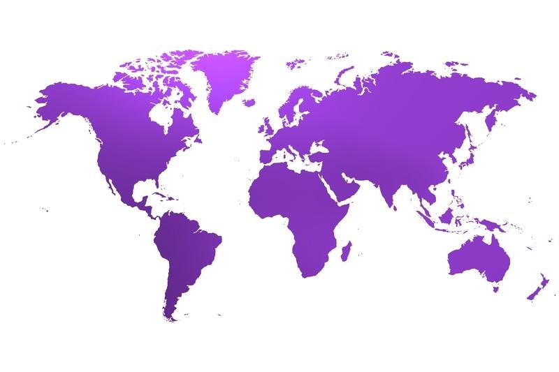 Glinder skickar i hela världen!