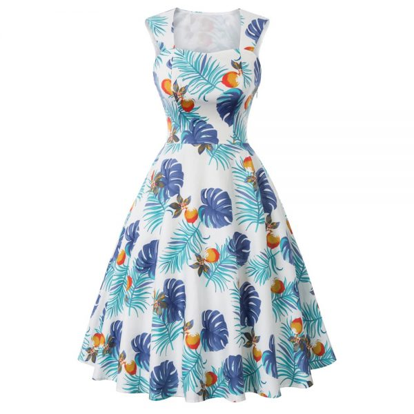 Klänning ljusblå fram