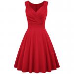 Röd klänning Marilyn