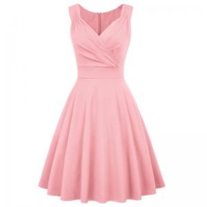 Rosa marilyn klänning