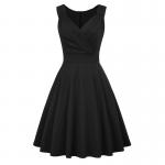Svart Marilyn klänning