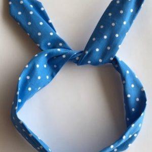 Hårband blå