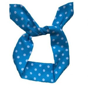 hårband lljusblå