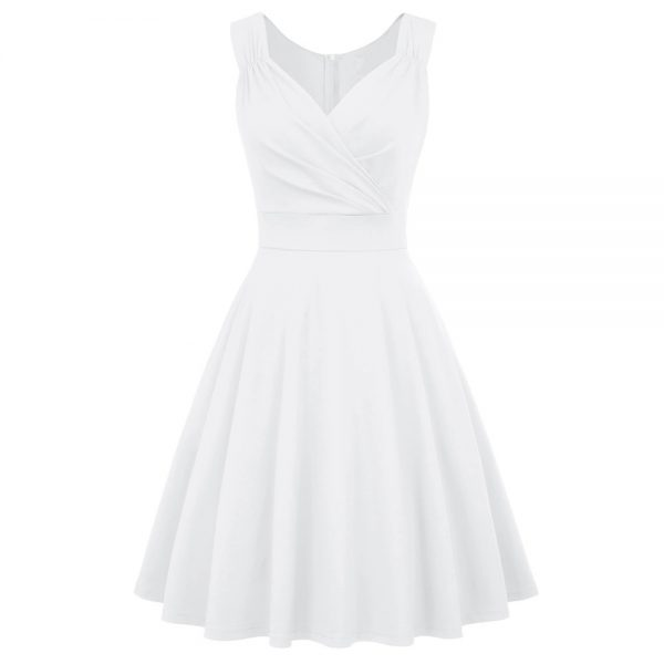 Studentklänning vit