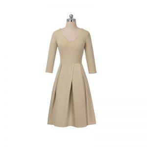 50 tals klänning med fickor