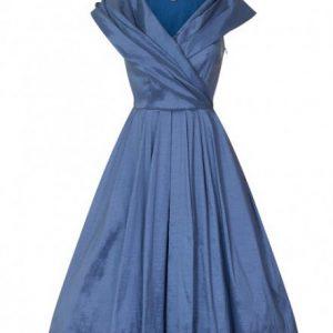 Ljusblå balklänning