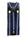 Grå blå hängslen
