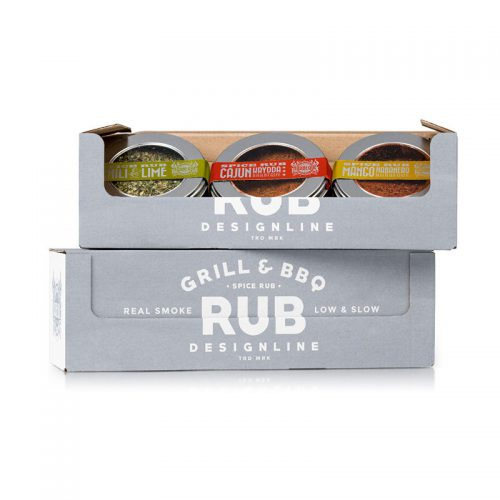 Presentkartong spice rub grillkrydda