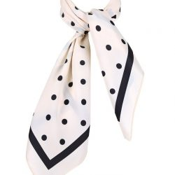 scarf ivory dam